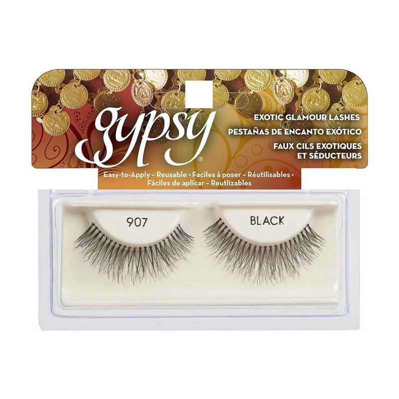(3 Pack) GYPSY LASHES False Eyelashes - 907 Black