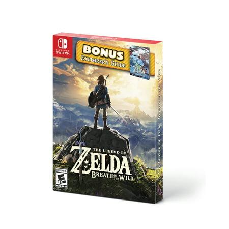 The Legend of Zelda: Breath of the Wild Starter Pack, Nintendo, Nintendo Switch, 045496595050