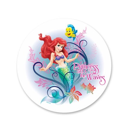 Little Mermaid Edible Icing Image Cake Decoration Topper -1/4 Sheet (Edible Mermaid Cake Decorations)