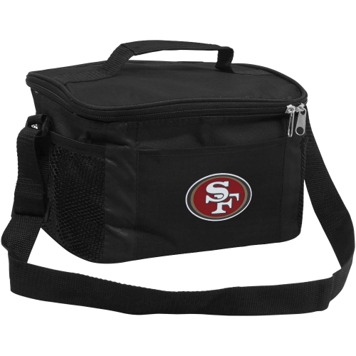 San Francisco 49ers 6-Pack Kooler Tote - No Size