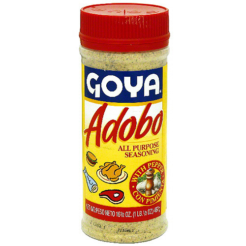 Goya Adobo With Pepper, 16.5 oz (Pack of 24) by Generic