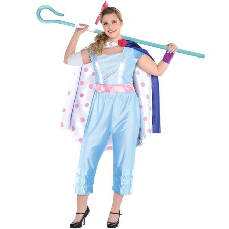 Adult Bo Peep Costumes (Party City Bo Peep Halloween Costume for Women, Toy Story 4, Plus Size, with)