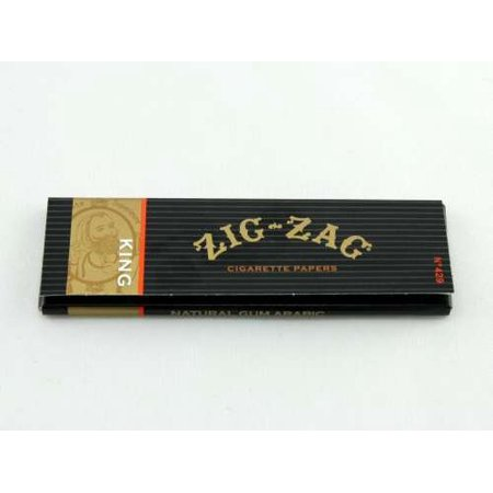 Zig Zag Hem (4 Packs Booklets King Size Cigarette Rolling Papers, 4 Packs By Zig Zag )