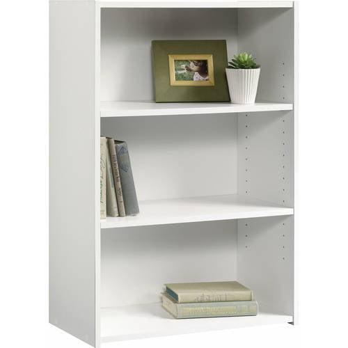 "Sauder Beginnings 35"" 3-Shelf Standard Bookcase, Multiple Finishes"