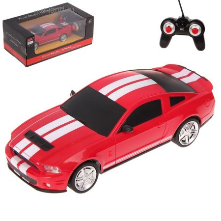 1/24 Ford Mustang Shelby GT500 Radio Remote Control Car R/C (2014 Ford Mustang Shelby Gt500 Cobra Jet)