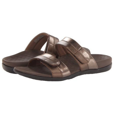 10e9c6eb66fa Vionic - Vionic by Orthaheel Shore Bronze Sandals - Walmart.com