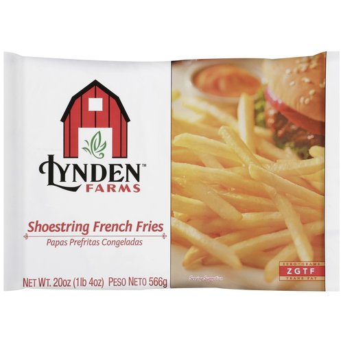 Lynden Farms Shoestring French Fries, 20 oz