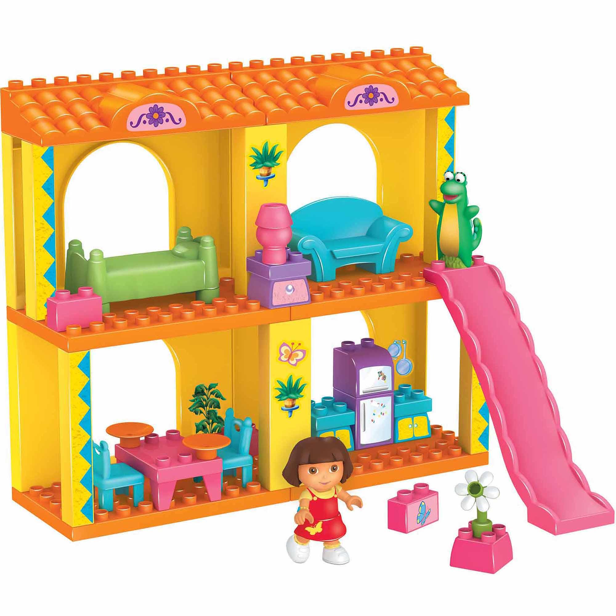 Dora the Explorer Mega Bloks Dora's Playtime Adventure Play Set