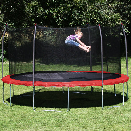 Trampoline Parts Retailers: Skywalker Trampolines 16-Foot Trampoline, With Enclosure