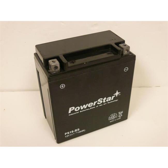 PowerStar PM16-BS-38 Ytx16-Bs-1 Atv Battery
