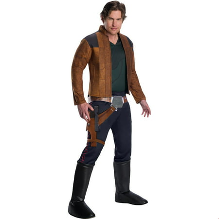 Solo: A Star Wars Story-Han Solo Deluxe Mens Halloween Costume