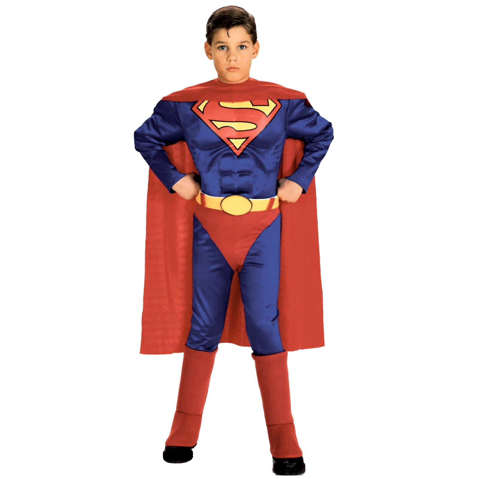 Superman Child with Muscle Chest Toddler