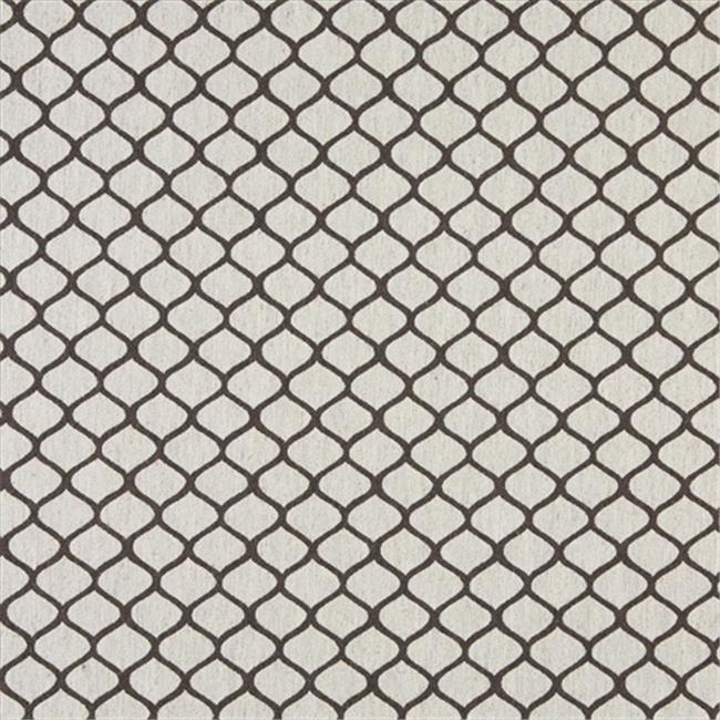 Designer Fabrics K0005D 54 in. Wide Taupe And Off White, Modern, Geometric, Designer Quality Upholstery Fabric