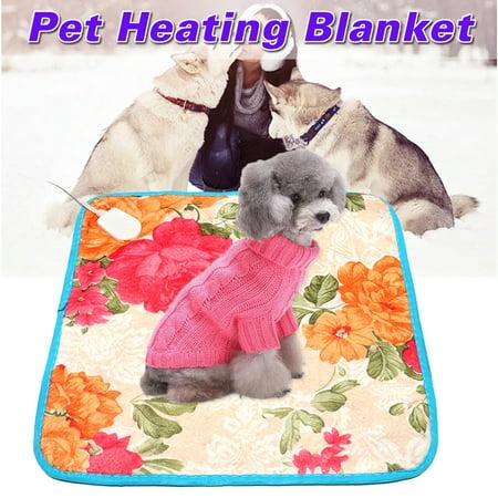 Lagrge Pet Heating Pad Enjoyofmine Waterproof Electric Pet