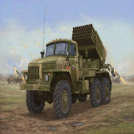 Multiple Rocket Launcher - Trumpeter Russian BM-21 Hail Multiple Rocket Launcher Late Version (1/35 Scale)