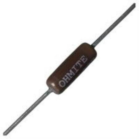 2X New Brand No.64K7998 Ohmite 20J350E Wirewound Resistor, 350 Ohm, 10W, 5%