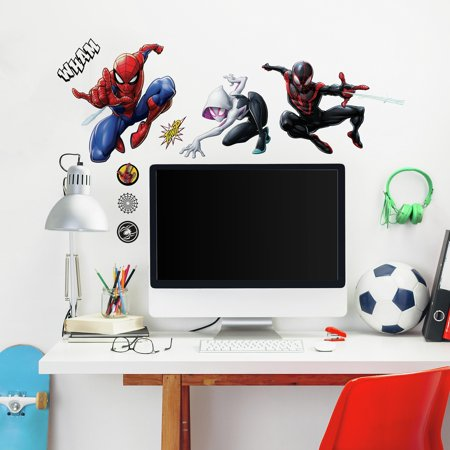 Spider-Man Miles Morales Peel and Stick Wall - Iron Man Decal
