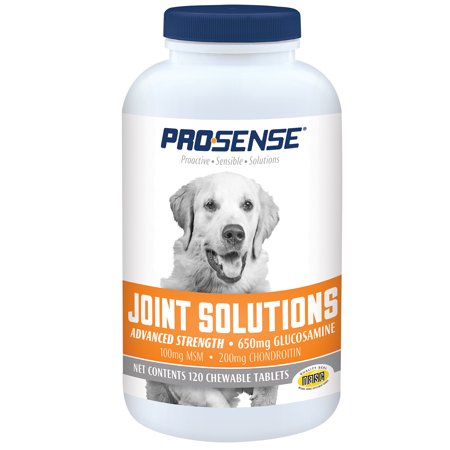 Pro-Sense Advanced Strength Glucosamine Chews for Dogs, 120
