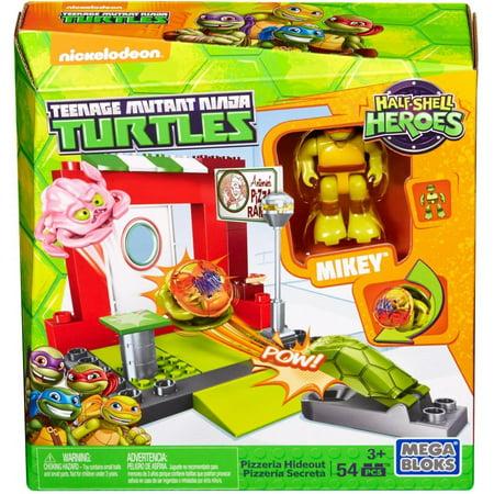 Mega Bloks Teenage Mutant Ninja Turtles Half Shell Heroes Pizzeria Hideout
