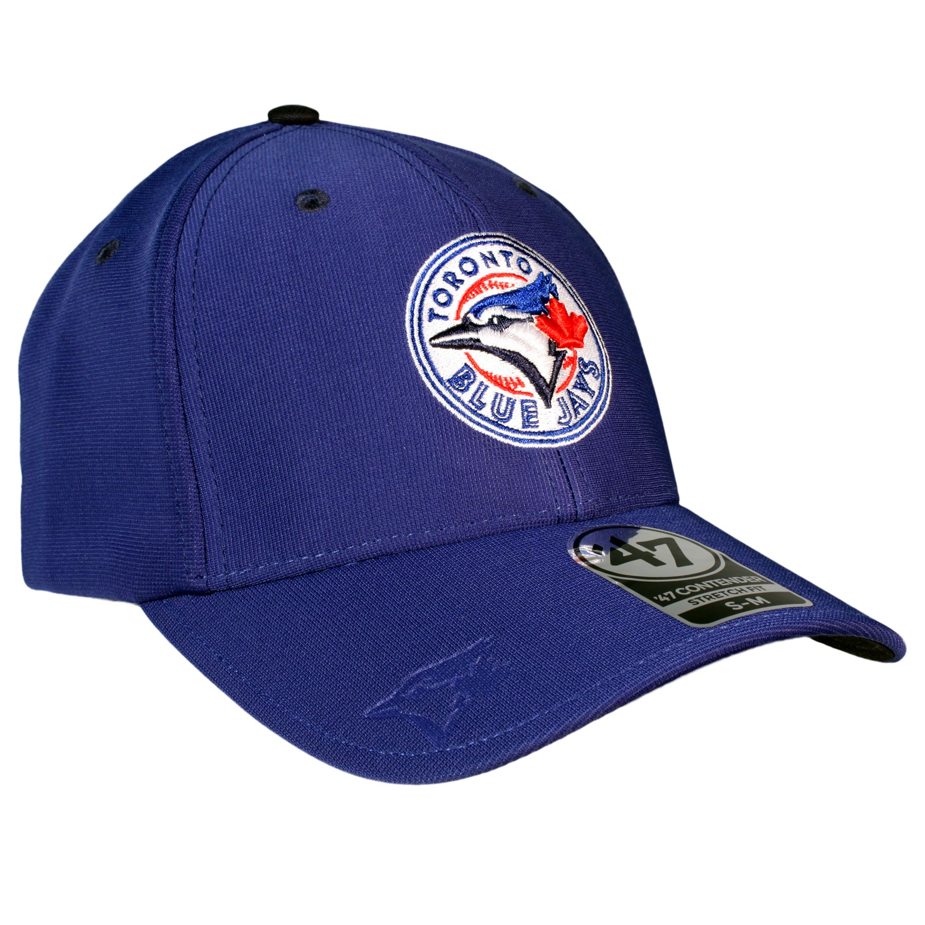 Toronto Blue Jays Big Boss Stretch Fit Cap (Royal)