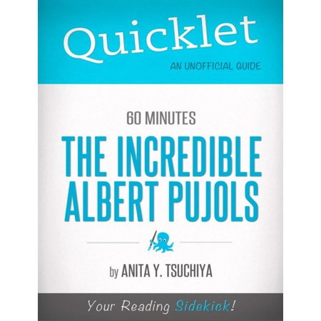 The Incredible Albert Pujols, 60 Minutes Bio - A Hyperink Quicklet - eBook Albert Pujols Autographed Baseball