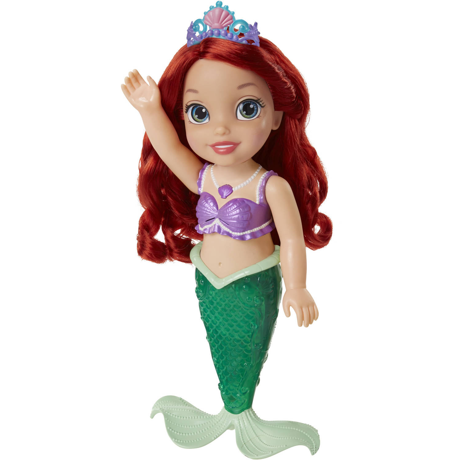 disney princess colors of the sea ariel doll walmartcom