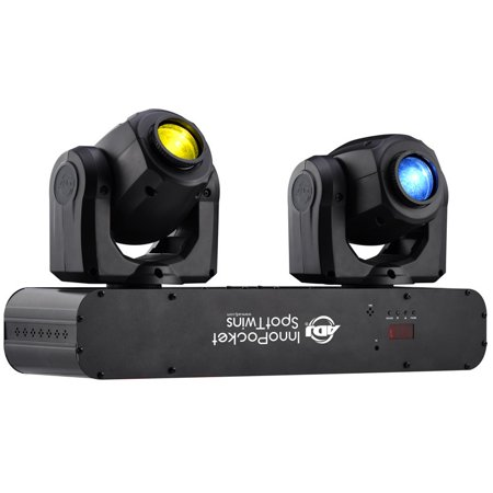 American DJ Inno Pocket Spot Twin 12W Led Dual Moving Head Light - Limited Stock - Factory Certified