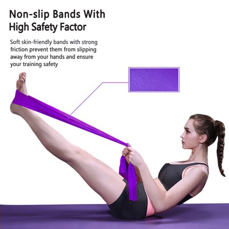 shengyu Workout Resistance Band Strength Training TPE Elastic Strap Yoga Loop Gym Fitness Stretch Equipment - image 5 of 7