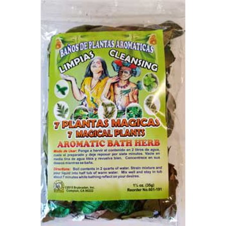 1 1/4oz 7 Magical Plants aromatic bath