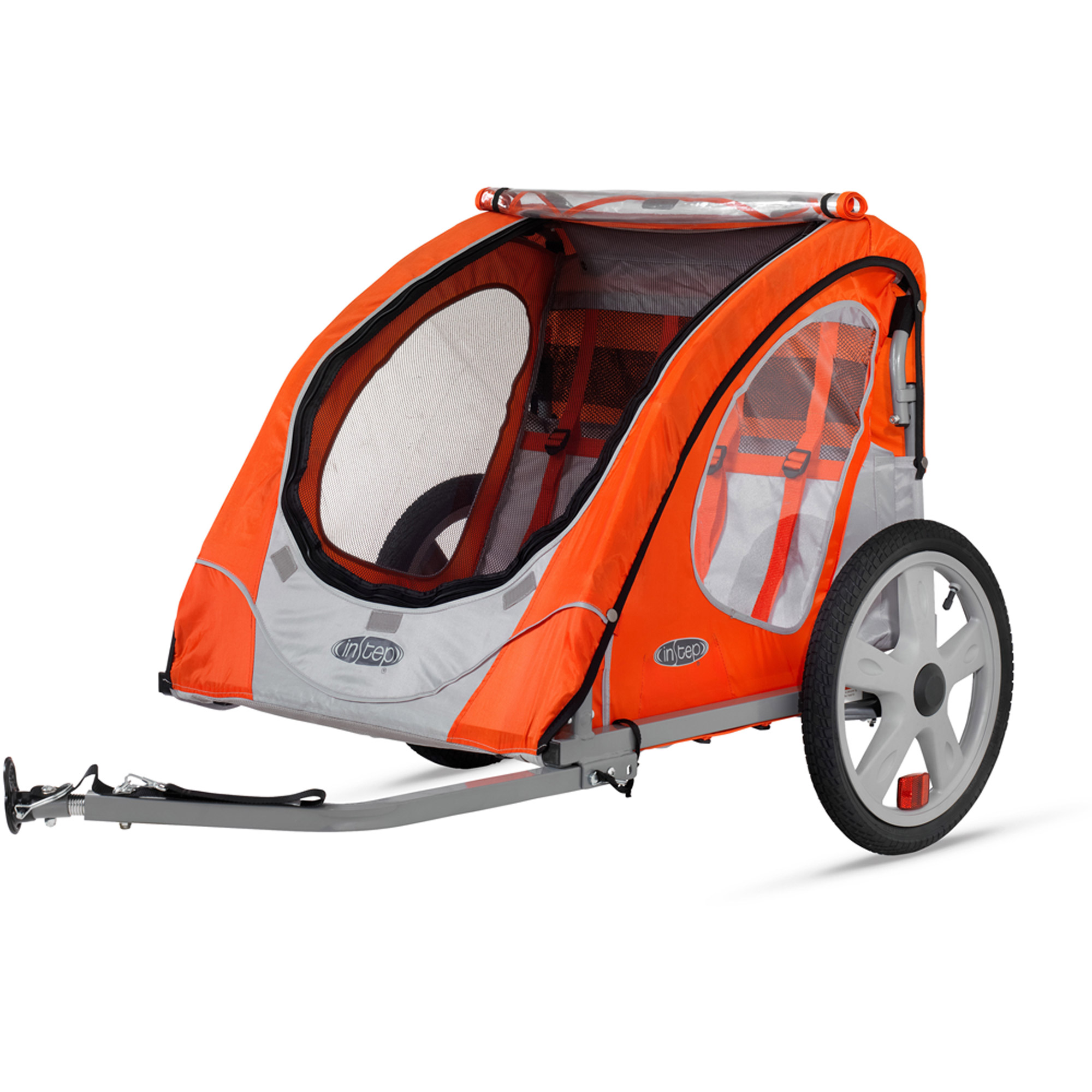 InStep Robin 2-Seater Trailer, Orange by Pacific Cycle