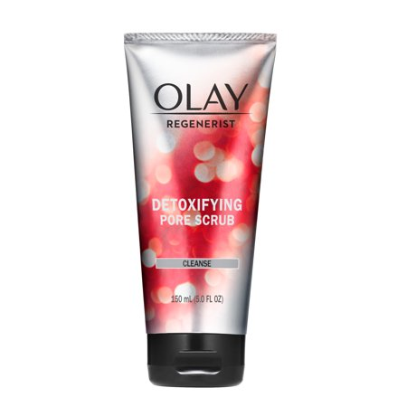 Olay Regenerist Detoxifying Pore Scrub Facial Cleanser, 5.0 fl oz