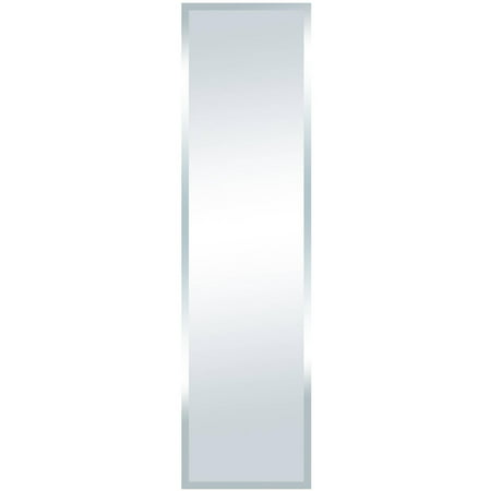 Cream Beveled Mirror (Mainstays Full Length Beveled Mirror 48