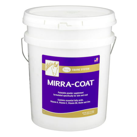 PetAg Equine System Mirra-Coat Coat Care Powder Supplement, 25.0 lb