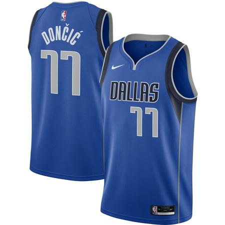 Luka Doncic Dallas Mavericks Nike 2020/21 Swingman Jersey Royal - Icon Edition