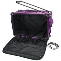 Mascot Metropolitan Inc. Tutto Machine On Wheels, Large Purple Machine Bag