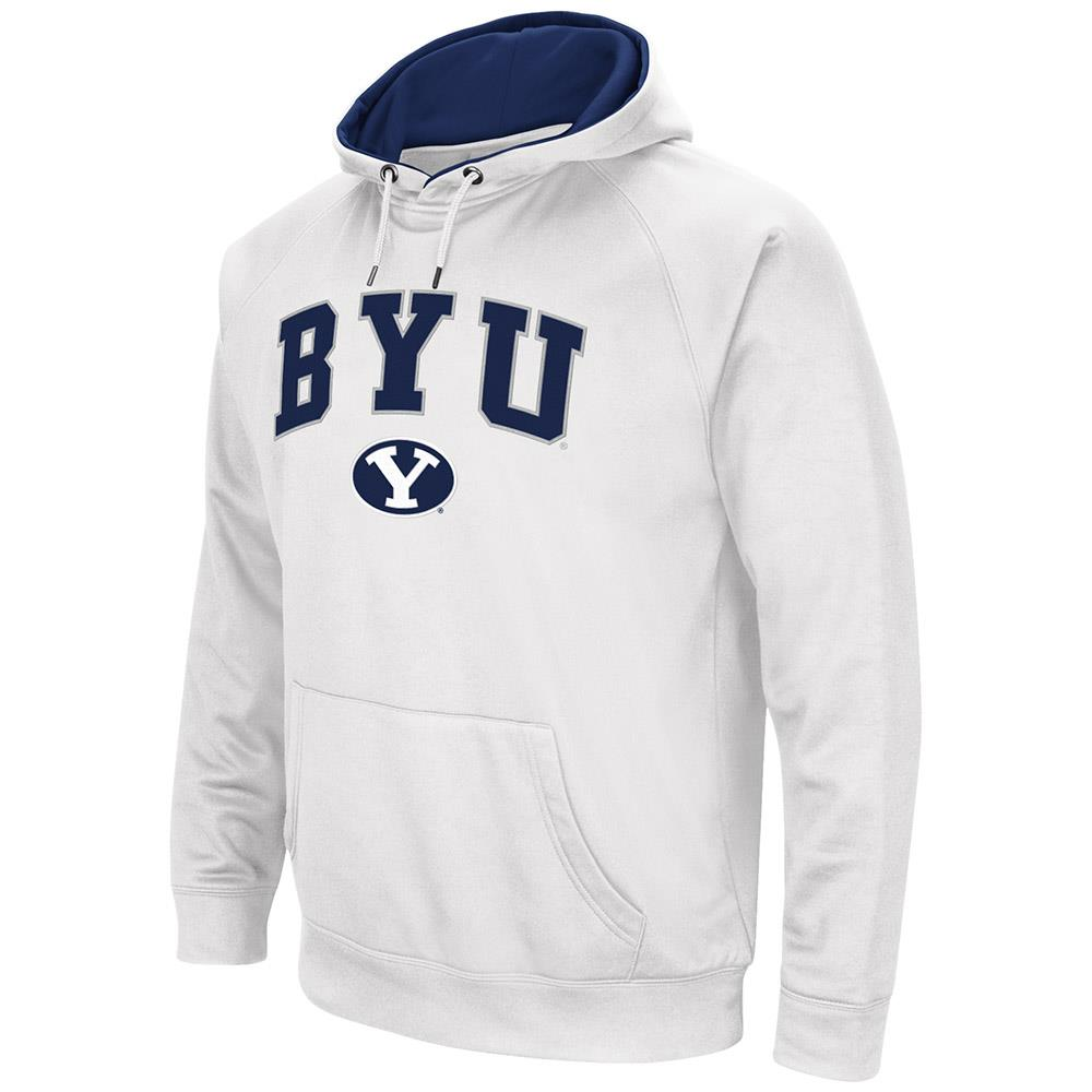 Mens NCAA BYU Cougars Fleece Pull-over Hoodie by Colosseum