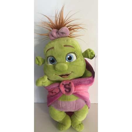 Universal Studios Shrek 4-D Baby Girl in Blanket Plush New With (Shrek Ogre Babies)