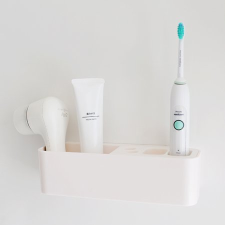 Electronicheart Detachable Electric Toothbrush Brush Head Toothpaste Holder Stand Bathroom Toothbrush Rack Organizer - image 4 of 8