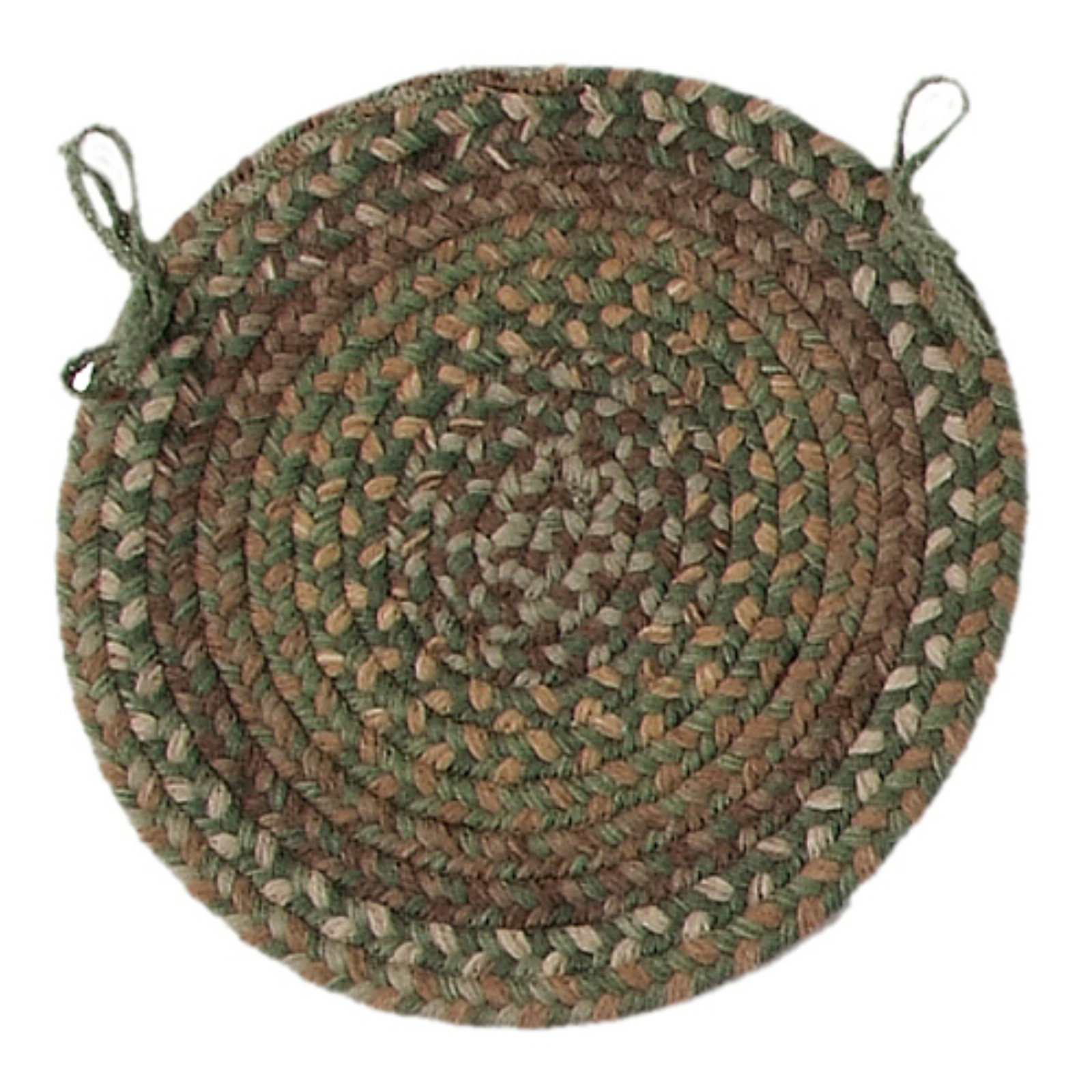 Colonial Mills Oak Harbour 15 in. Round Chair Pad by Colonial Mills Inc