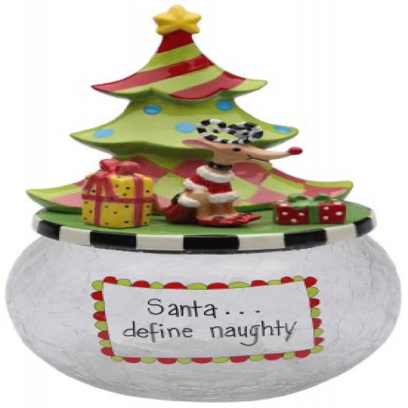 Appletree Design 62671 Cookie Jar with Seasonal Design, C...
