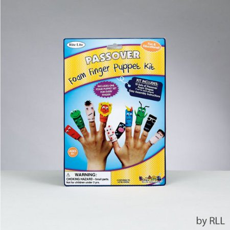 - Ten Passover Plagues Foam Finger Puppet Kit by Rite Lite