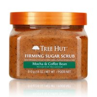 Tree Hut Shea Sugar Scrub, Mocha Coffee Bean, 18 oz