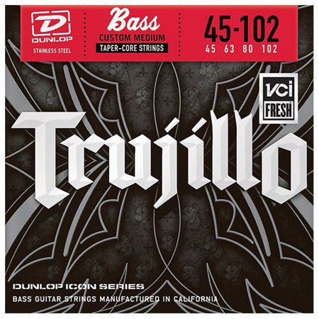 Dunlop - RT45102T - Robert Trujillo Icon Series Bass Guitar Strings 4 String Set -