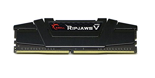 G.SKILL 16GB (4 x 4GB) Ripjaws V Series DDR4 PC4-25600 3200MHz DIMM F4-3200C16Q-16GVKB