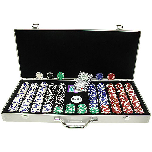 Trademark Poker 650pc 11.5g Royal Suited Chips with Aluminum Case