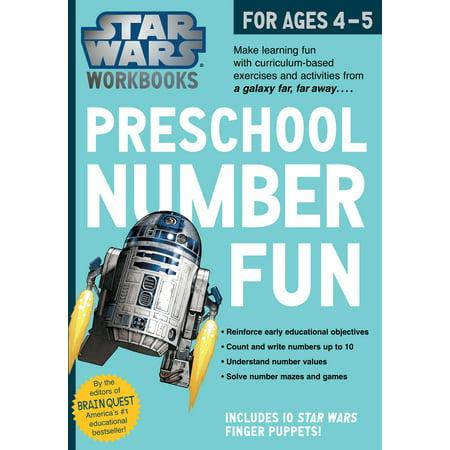 Star Wars Workbook: Preschool Number Fun - Paperback