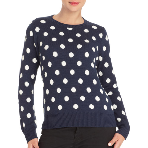 Faded Glory Women's Collection Crew Neck Sweater