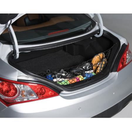 2012 Genesis Coupe - Envelope Style Trunk Cargo Net for Hyundai Genesis Coupe 2DR 2010 2011 2012 2013 2014 2015 2016 NEW