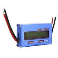 Fugacal Watt Meter,1Pc/lot RC Digital Wattmeter Watt Meter Power Meter Checker DC 60V 100A Balance Voltage Battery