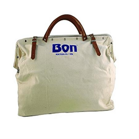 Bon Tools - Bon 11-127 20-Inch by 5-1/2-Inch Heavy Duty Canvas Tool Bag